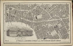 Collins' Illustrated Atlas of London with 7000 references, in 36 plates of the principal routes between St. Paul's and the suburbs, from a survey made expressly for this work, by R. Jarman